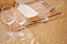 Glamorous Gold Wedding by Jana Marnewick Sequin Tablecloth, Gold Sparkle, Gold Wedding, Color Schemes, Glitter, Glamour, Bride, Photography, Weddings