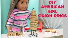 Watch this DIY to make American Girl Onion Rings for your dolls! This craft is fun and easy to do. Our dolls love their onion rings and are excited to share....