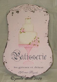 Pink Patisserie Sign