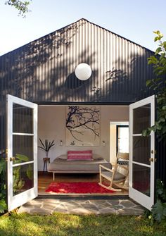LA Home: A sleep shed addition in Los Feliz. #guesthouse