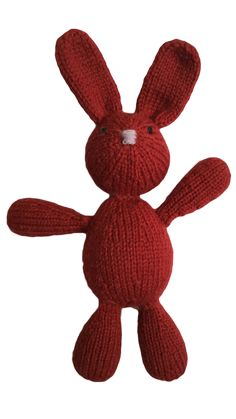VirkotieCHERRY Bunny Virkotie CHERRY Quality 100% Wool Bunny HANDMADE IN AUSTRALIA @virkotie www.virkotie.com