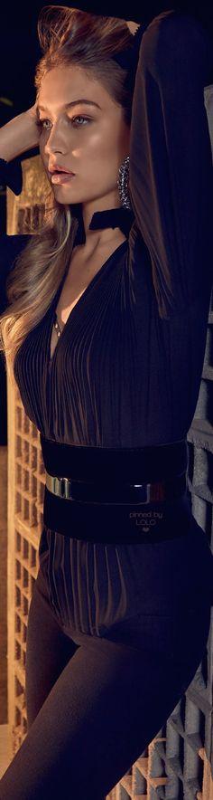 Gigi Hadid by Henrique Gendre for Vogue Brazil 2015 |  LOLO❤