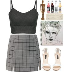 12. art classes by wafflecalum on Polyvore featuring мода, Forever New…
