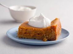 Pumpkin Gooey Butter Cakes  http://www.foodnetwork.com/recipes/paula-deen/pumpkin-gooey-butter-cakes-recipe-1940256