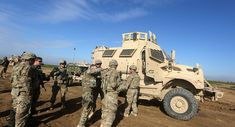Some 150 US Troops Arrive in Northeastern Syria - Kurdish Security Source Residents and local administration officials in the northern Syrian town of Al-Hasakah rallied on Wednesday to protest against the illegal presence of 150 US troops in the Kurdish-controlled town of Rumeilan, Syrian SANA news agency reported.  Read more: http://sputniknews.com/middleeast/20160505/1039107755/syria-troops-protest.html#ixzz47p76IPWA