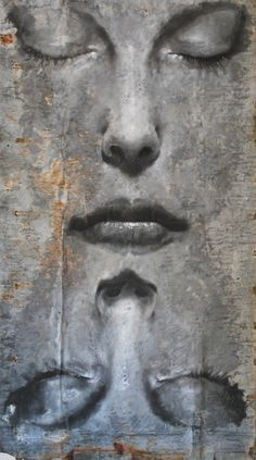 """""""as above so below""""/ by Max Gasparini/ Italy/ (Painting/ Oil)"""