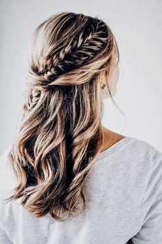 hair style for short hair hair jewellry hair pins hair styles hair and makeup near me wedding hair dos for wedding hair hair styles for shoulder length hair Curled Hairstyles, Wedding Hairstyles, Formal Hairstyles, Bandana Hairstyles, Hairstyles 2018, Braid Hairstyles, Party Hairstyles, Girls School Hairstyles, Pinterest Hair