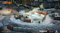 ArtStation - The Division - Environment Art, Christoffer Radsby