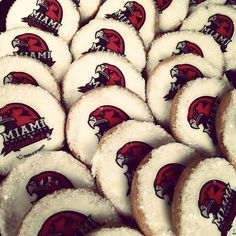 "@maddieweber's photo: ""Miami cookies at the young alumni event! #MiamiOH"""