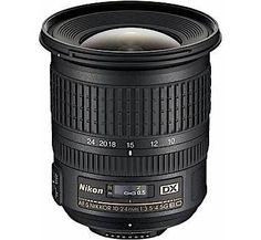 Nikon Lenses wide angle lenses for Nikon camera Nikon AF-S DX NIKKOR 10-24mm f/3.5-4.5G ED Lens - Cameras Direct AUSTRALIA