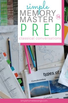 Classical Conversations memory master prep tips  - for any cycle.  Help your student achieve the big goal while tracking progress.