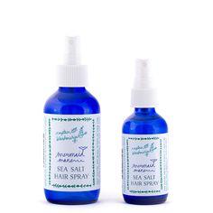 Captain Blankenship Mermaid Sea Salt Hair Spray // Follain, $24