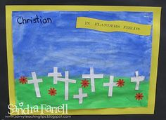 Classroom tips, teaching ideas and resources for the primary, or lower elementary classroom Remembrance Day, Teaching Tips, Grade 1, Classroom, Science, Christian, Math, School, Crafts