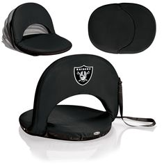Oakland Raiders Stadium Seat / Beach Chair / Gaming Chair - Oniva Seat by Picnic Time