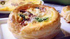 Peynirli Sucuklu Milföy Börek