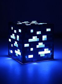 HOTTOPIC.COM - Minecraft Light-Up Diamond Ore