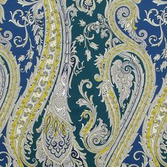 Fabulous calypso blue decorating fabric by Robert Allen. Item 240942. Big discounts and free shipping on Robert Allen fabrics. Only first quality. Search thousands of luxury fabrics. Swatches available. Width 55 inches.