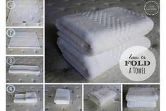 Organizing: The Linen Closet - KonMari - Bathroom Towel Linen Closet Organization, Bathroom Organization, Organization Hacks, Organized Bathroom, Closet Storage, Organizar Closets, How To Fold Towels, Folding Bath Towels, Folding Laundry