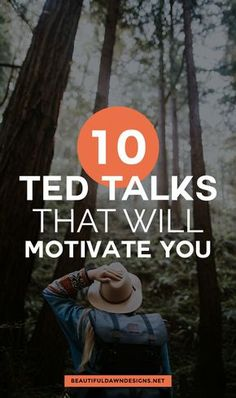 10 motivational TED talks that will boost your mood and inspire you. #tedtalks #motivation #inspiration via @tiffany_griffin
