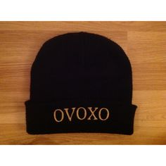 0c233dfd10b OVOXO beanie hat. Drake. YMCMB. RAP.The Weeknd ( 15) ❤ liked on Polyvore