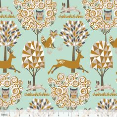 Natural Wonder Enchanted Forest Blue Blend Fabrics PREORDER