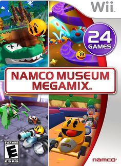 Namco Museum Megamix Wii Games, Arcade Games, Namco Museum, Ever After High Games, Wii Motion, Pac Man Party, Bandai Namco Entertainment, Wii Controller, Mario Kart