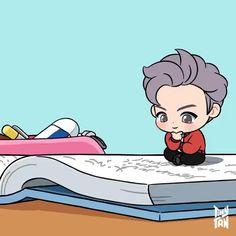 Bts Taehyung, Bts Bangtan Boy, Bts Jungkook, Bts Memes, Desenhos Halloween, V Chibi, V Video, Loli Kawaii, Bts Dancing