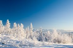 Le Massif dans la neige
