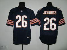 blue Tim Jennings Elite jersey, Chicago Bears #26 Nike NFL jersey
