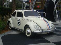 Herbie the Love Bug!     #vw #volkswagen #beetle #bug