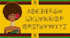 """Zilap Africa """"El cultura de un continente, representada en una fuente"""" Inspirada y diseñada por Zilap Estudio Ensamble y fundición por LJ Design Studios Descargar Demo - http://www.fontspace.com/zilap-estudio-zp/zilap-africa Ver proyecto -https://www.behance.net/gall…/54512177/ZILAP-AFRICA-Typeface"""