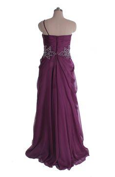 Style No.0bd00751,Elegant one shoulder chiffon gown,US$269.00   Read More:    http://www.weddingspnina.com/index.php?r=elegant-one-shoulder-chiffon-gown.html