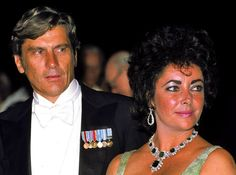 They made their debut as a couple at the Virginia Military Institute, Lexington, on Founders' Day on November 11, 1976, where John Warner gave a speech and Elizabeth Taylor looked up adoringly at h...