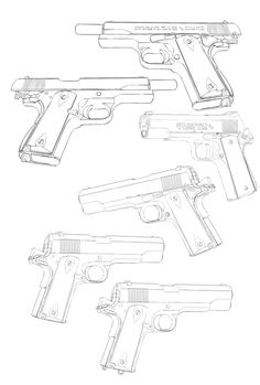 Save those thumbs Drawing Practice, Drawing Poses, Drawing Tips, Drawing Reference, Drawing Sketches, Pencil Drawings, Drawing Ideas, How To Draw Weapons, Gun Art