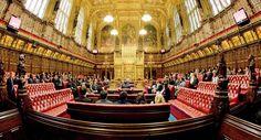 das britische Oberhaus House of Lords