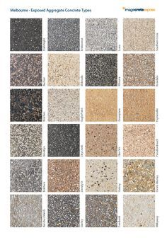 Exposed Aggregate Driveways In Melbourne ▷ Top Aggregate Concrete Pavers Concrete Patios, Concrete Patio Designs, Exposed Aggregate Driveway, Exposed Concrete, Polished Concrete, Driveway Design, Driveway Landscaping, Modern Driveway, Driveway Ideas