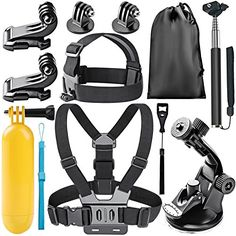 Neewer 8In1 Action Camera Accessory Kit for GoPro Hero 45 Session Hero 123345 SJ40005000 Xiaomi Yi Nikon and Sony Sports DV in Swimming Rowing Climbing Bike Riding Camping and More >>> Want additional info? Click on the image.
