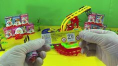 kinder surprise egg MiniPet with funny train surprise toy