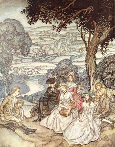 Arousing Delight - Arthur Rackham: Style, Subjects, Technique, and Technology Picture 3