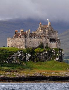 Duart Castle Scotland, ancestral home of the clan Maclean, Island of Mull