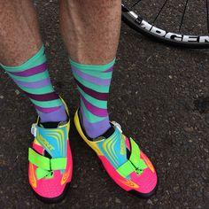 Bike Style, Bike Run, Cycling Outfit, Triathlon, Swimming, Socks, Running, Stuff To Buy, Outfits