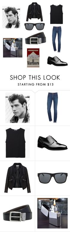 """""""Danny Zuko (grease)"""" by emo-oreo-cookie ❤ liked on Polyvore featuring Jacob Cohёn, T By Alexander Wang, Zizzi, Orlebar Brown, BOSS Hugo Boss, women's clothing, women, female, woman and misses"""