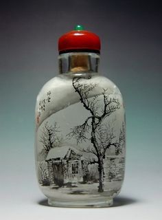 beautiful snuff bottle