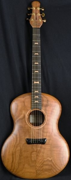 "Jon Kammerer ""Little Dog"" acoustic Guitar --- https://www.pinterest.com/lardyfatboy/"