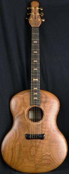 """Jon Kammerer """"Little Dog"""" acoustic Guitar --- https://www.pinterest.com/lardyfatboy/"""