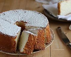 Angel Cake, ciambellone americano senza grassi e senza latte