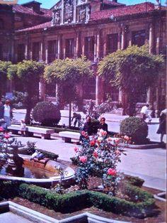 León, fotos antiguas, plaza de San Marcelo.