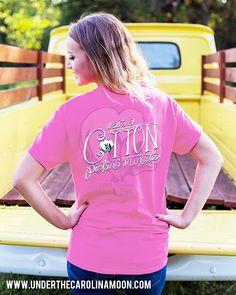 Short Sleeve Southernology™ Wait a Cotton Pickin' Minute | underthecarolinamoon.com
