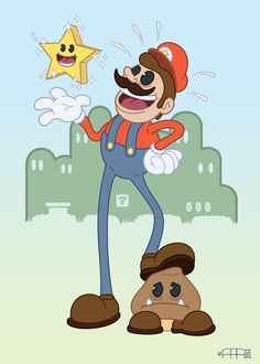 #Mario by Robots are Red