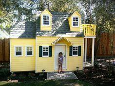 Love this playhouse!